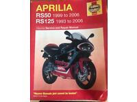 Aprilia rs 50/125 HAYNES MANUAL
