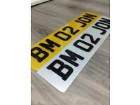 CAR NUMBER PLATES/LICENSE PLATES/3D GEL ROAD LEGAL/£30