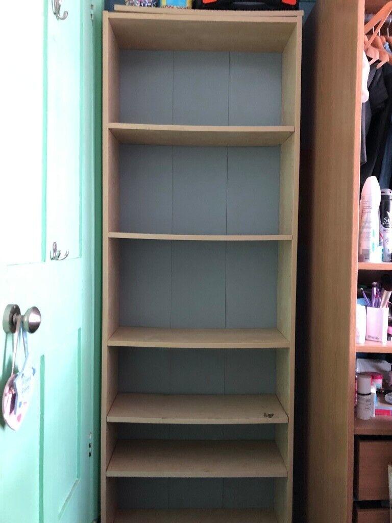 White Stained Oak Veneer Ikea Billy Bookcase In Kenley London Gumtree