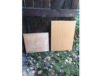 Pine effect worktops