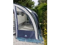Sunn Camp Ultima 390 Lightweight Caravan Awning in Navy Blue/Pale Grey