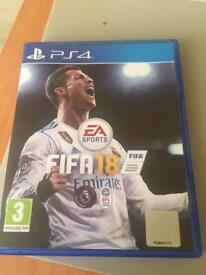 Ps4 fifa 18 for sale
