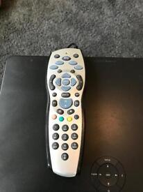 Sky+ HD box, wireless mini connector, remote