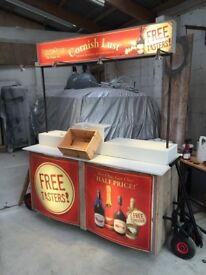 Mobile Market Stand - Mobile Bar - Pop up Trade Stand