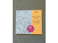 OMY Giant coloring poster *brand new*