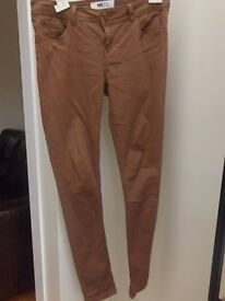 New Look Brown Jeans Size 10