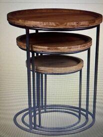 Birlea Bergen Nest of Tables