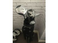 titliest irons 3-9 and other clubs to make full set inc balls and tees stand bag good condition £50