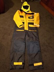 CLIMATEC MULLION SUIT, never used, labels attached, ideal for sailing,fishing,etc