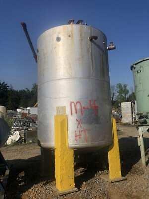 Steel Mixing Tank 3000 Gallon Mixer Lightnin Vektor V9q56
