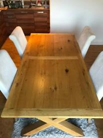 High spec next home dinning room table and chairs