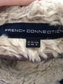 French Connection Fur Gilet