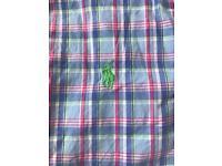 Boys Ralph Lauren shirt aged 8