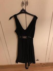 Size 14 black knee length dress