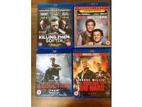20 Blu ray films