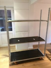 DUTCH DANISH TROLLEY WITH THREE EXTRA SHELVES VERY GOOD CONDITION