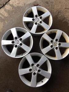 2003-2010 Mazda 3 Set Of 4 OEM rims 5x114,3