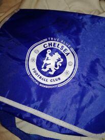 Signed Chelsea Football bag.