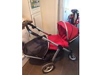 Oyster Max double travel system buggy