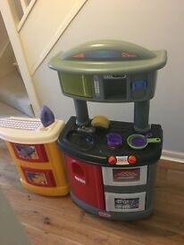 Little Tikes Doubke Up Kitchen & Laundry