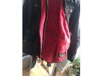 Size 16 fleece lined Barbour jacket