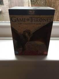 Game of thrones seasons 1-6 Blu Ray