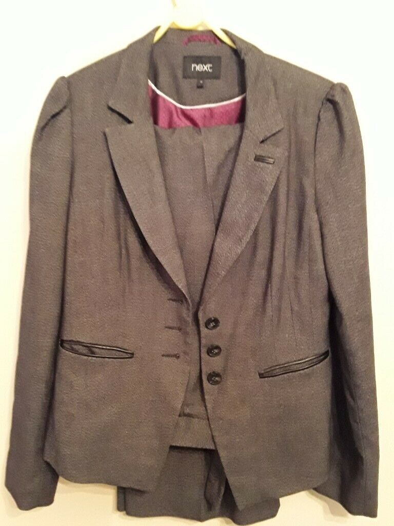 first look preview of dirt cheap Next ladies grey trouser suit, size 12 (long trousers), immaculate  condition | in Aberdeen | Gumtree