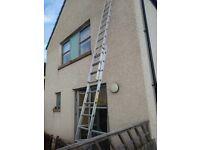 Alluminum ladder 2 part