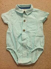 Next shirt baby grow up to three months