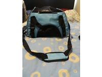 fabric cat carrier for small cat or kitten like new