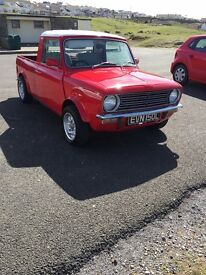 Classic mini pick up conversion 1973