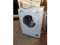 Washer Dryer 8 KG Wash 5 KG Dry 1400 Spin PWD Candy GOW485 White