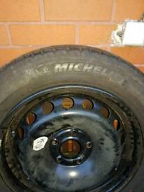 Megane 3 spare wheel with great condition tyre