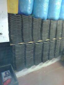 Black ceramic Roof Tiles 750 = (83 square metres)