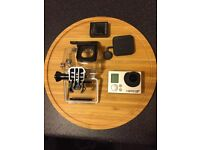 Go Pro Hero 3+ with waterproof case BRAND NEW