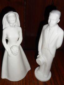 Coalport Moments Figurines Bride & Groom 2003