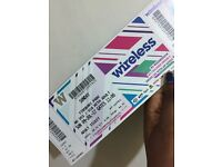 WIRELESS TICKETS FOR SELL!! BOTH SATURDAY & SUNDAY