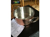 Mauviel Copper 24cm Casserole and Lid/Christmas present