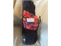 Bagged yoga mat, USA pro 12 pants