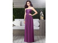 Dessy Bridesmaid Dress 2914 in African Violet size 8