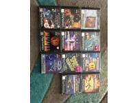 PlayStation 1 Games and controller