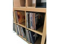 Vinyl shelving storage records lps