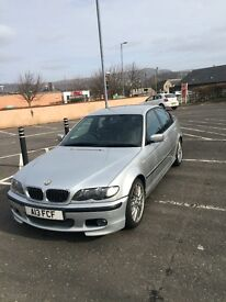 """330d e46 BMW msport 165000miles new engine at 134000miles. 18"""" Alloys"""
