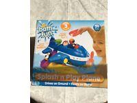 Brand new splash and play plane