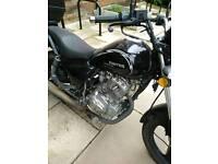 125cc Zontes Motorbike