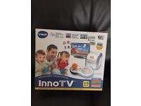 Game Console VTech Inno TV Plug & Play for Children Kids Fun & Controller Like NEW