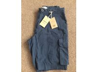 Men's navy cargo shorts, brand new with labels from NEXT, size 30