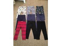 Girls Leggings Bundle Collection Size 2-3 years
