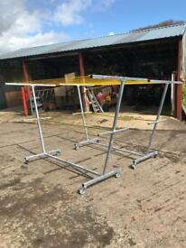 Galvanised Mobile Clotheslines