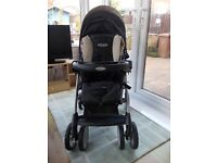 Grace Pushchair and Infant Car Seat/Carrier with Travel System, Good Condition, Rain Cover